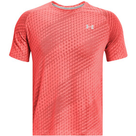 Under Armour Streaker Runclipse Short Sleeve Shirt Men venom red-venom red